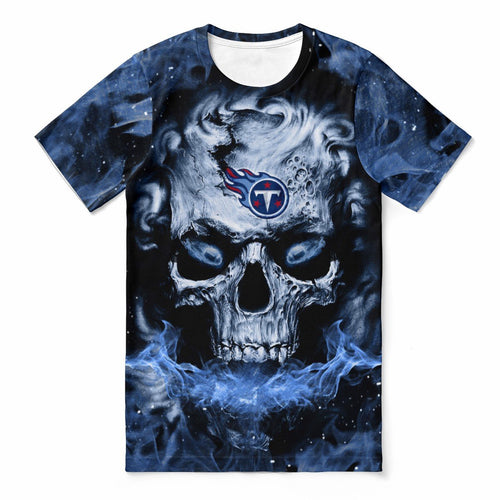 Titans 3D Skull T-shirts For Women-Heroinhere