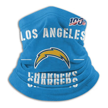 Load image into Gallery viewer, 100 Chargers Team Seamless Face Mask Bandanas-Heroinhere