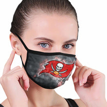 Load image into Gallery viewer, Buccaneers Illustration Art Anti-infective Polyester Face Mask-Heroinhere