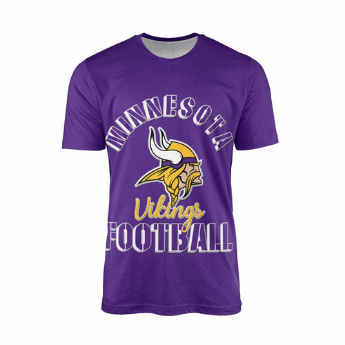 Vikings Team T-shirts For Men-Heroinhere