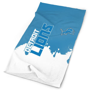 Lions Team Multi-Functional Seamiess Rave Mask Bandana-Heroinhere