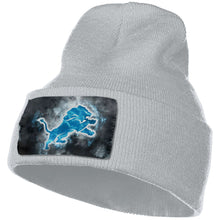 Load image into Gallery viewer, Lions Illustration Art Knit Hat Cap-Heroinhere