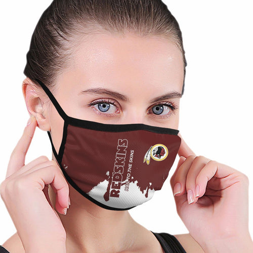 Redskins Team Anti-infective Polyester Face Mask-Heroinhere