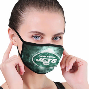 Jets Illustration Art Anti-infective Polyester Face Mask-Heroinhere