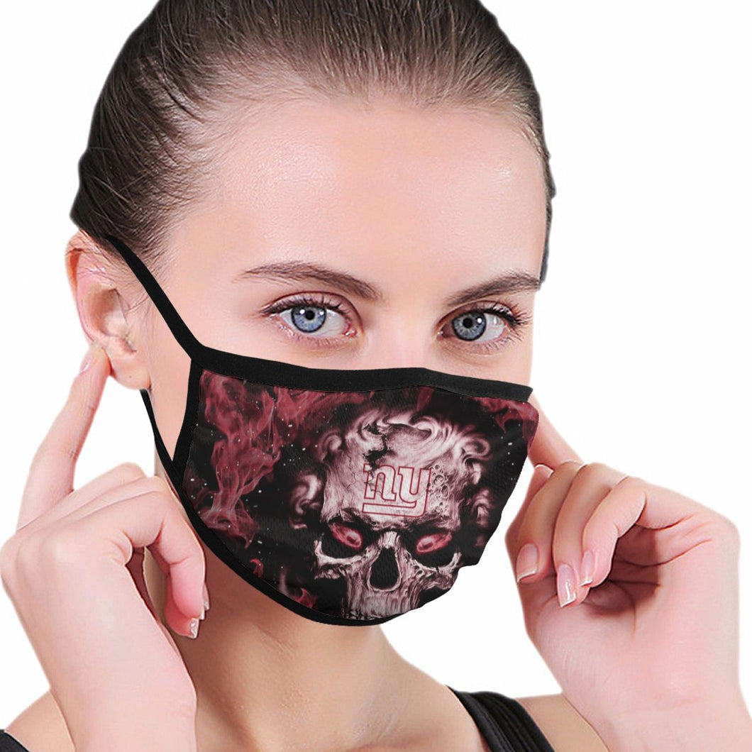 QIANOU66 3D Skull Giants Anti-infective Polyester Face Mask-Heroinhere