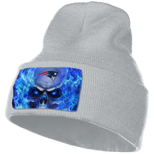 Load image into Gallery viewer, 3D Skull Patriots Knit Hat Cap-Heroinhere