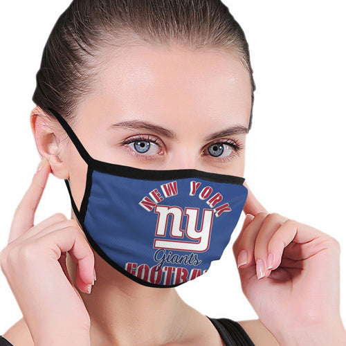 Giants Football Team Anti-infective Polyester Face Mask-Heroinhere