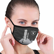 Load image into Gallery viewer, Raiders Team Anti-infective Polyester Face Mask-Heroinhere