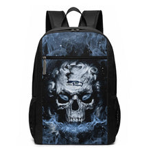 Load image into Gallery viewer, 3D Skull Seahawks Travel Laptop Backpack 17 IN-Heroinhere
