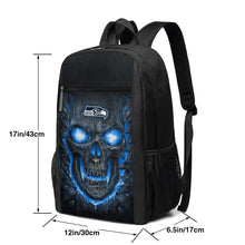 Load image into Gallery viewer, Seahawks Skull Lava Travel Laptop Backpack 17 IN-Heroinhere