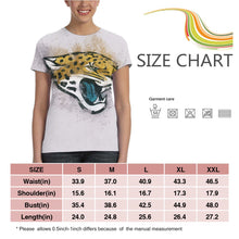 Load image into Gallery viewer, Jaguars Logo T Shirts For Women-Heroinhere
