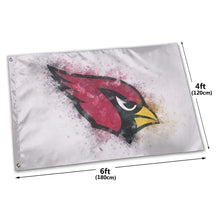 Load image into Gallery viewer, Cardinals Logo Flag 4*6 ft-Heroinhere