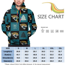 Load image into Gallery viewer, Jaguars Team Ugly Christmas Hoodies For Men Pullover Sweatshirt-Heroinhere