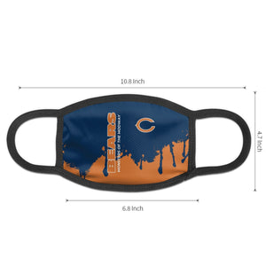 Bears Team Anti-infective Polyester Face Mask-Heroinhere