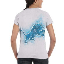 Load image into Gallery viewer, Lions Logo T Shirts For Women-Heroinhere