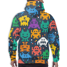 Load image into Gallery viewer, Pixelated Monster Hoodies For Men Pullover Sweatshirt-Heroinhere
