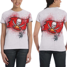 Load image into Gallery viewer, Buccaneers Logo T Shirts For Women-Heroinhere
