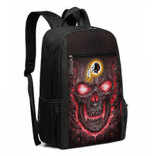 Load image into Gallery viewer, Redskins Skull Lava Travel Laptop Backpack 17 IN-Heroinhere