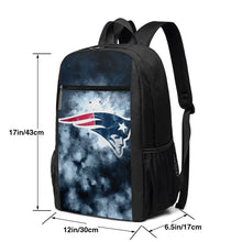 Load image into Gallery viewer, Patriots Illustration Art Travel Laptop Backpack 17 IN-Heroinhere