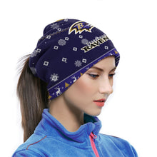 Load image into Gallery viewer, Ravens Team Christmas Ugly Seamless Face Mask Bandanas-Heroinhere