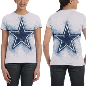 Cowboys Logo T Shirts For Women-Heroinhere