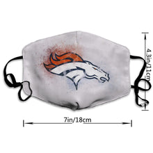 Load image into Gallery viewer, Broncos Logo Anti-infective Polyester Face Mask-Heroinhere