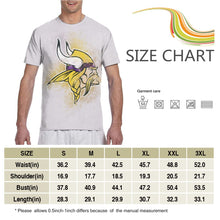 Load image into Gallery viewer, Vikings Logo T Shirts For Men-Heroinhere