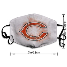 Load image into Gallery viewer, Bears Logo Anti-infective Polyester Face Mask-Heroinhere