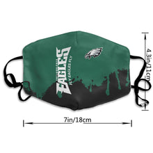 Load image into Gallery viewer, Eagles Team Anti-infective Polyester Face Mask-Heroinhere