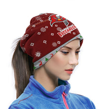 Load image into Gallery viewer, Buccaneers Team Christmas Ugly Seamless Face Mask Bandanas-Heroinhere