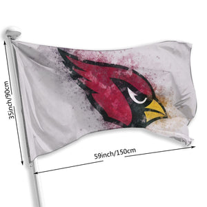 Cardinals Logo Flag 3*5 ft-Heroinhere