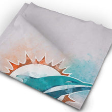 Load image into Gallery viewer, Dolphins Logo Multi-Functional Seamiess Rave Mask Bandana-Heroinhere