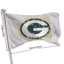 Load image into Gallery viewer, Packers Logo Flag 3*5 ft-Heroinhere