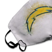 Load image into Gallery viewer, Chargers Logo Anti-infective Polyester Face Mask-Heroinhere