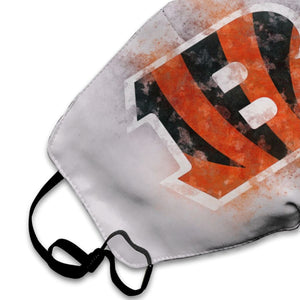 Bengals Logo Anti-infective Polyester Face Mask-Heroinhere