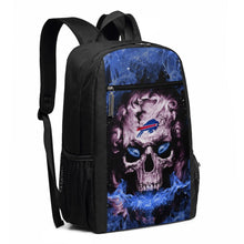 Load image into Gallery viewer, 3D Skull Bills Travel Laptop Backpack 17 IN-Heroinhere