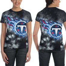 Load image into Gallery viewer, Titans Illustration Art T Shirts For Women-Heroinhere