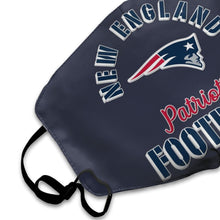 Load image into Gallery viewer, Patriots Football Team Anti-infective Polyester Face Mask-Heroinhere