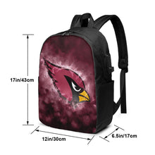 Load image into Gallery viewer, Cardinals Illustration Art Travel Laptop Backpack USB Backpack 17 IN-Heroinhere
