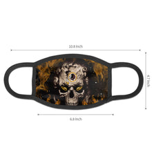 Load image into Gallery viewer, QIANOU66 3D Skull Redskins Anti-infective Polyester Face Mask-Heroinhere
