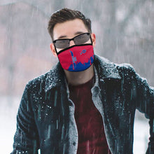 Load image into Gallery viewer, Bills Team Anti-infective Polyester Face Mask-Heroinhere