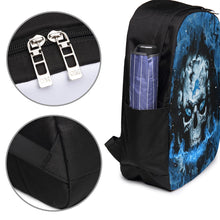 Load image into Gallery viewer, 3D Skull Lions Travel Laptop Backpack USB Backpack 17 IN-Heroinhere