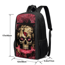 Load image into Gallery viewer, 3D Skull Cardinals Travel Laptop Backpack 17 IN-Heroinhere