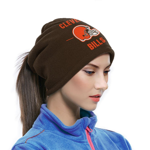 100 Browns Team Seamless Face Mask Bandanas-Heroinhere