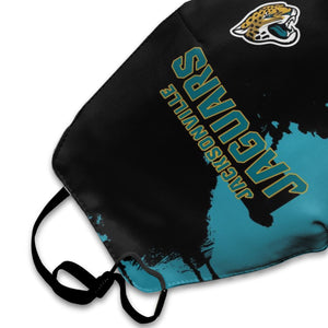 Jaguars Team Anti-infective Polyester Face Mask-Heroinhere