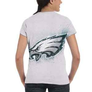 Eagles Logo T Shirts For Women-Heroinhere