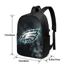 Load image into Gallery viewer, Eagles Illustration Art Travel Laptop Backpack USB Backpack 17 IN-Heroinhere