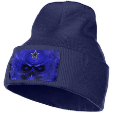 Load image into Gallery viewer, 3D Skull Cowboys Knit Hat Cap-Heroinhere