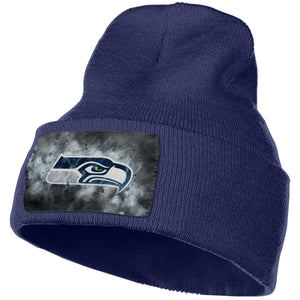 Seahawks Illustration Art Knit Hat Cap-Heroinhere