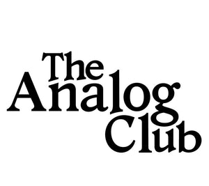 the analog club logo